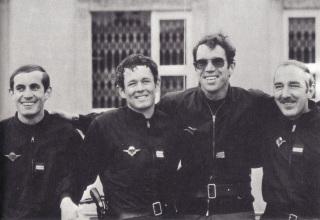 Officiers du GIGN en Mai 1981