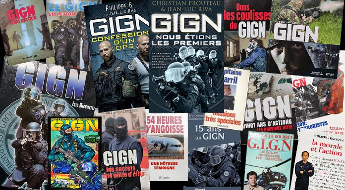 GIGN : bibliothèque des ouvrages sur le sujet