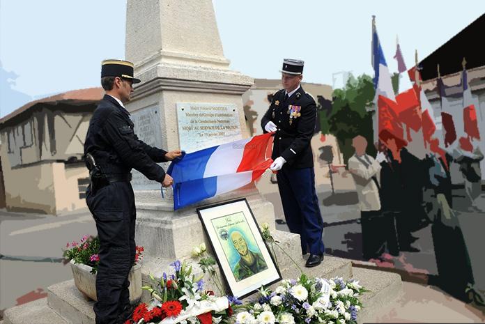 [GIGN] Plaque commémorative en l'honneur du MAJ Frédéric MORTIER