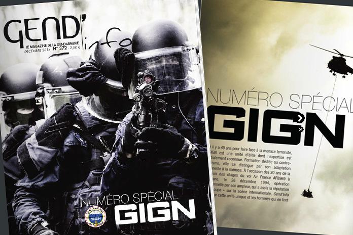 GIGN: Gend'Info Décembre 2014, magazine spécial GIGN