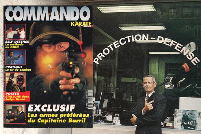 Magazine COMMANDO Karaté Bushido Hors-série N°15 : Les armes préférées du Capitaine BARRIL